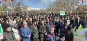 تصاویر / حضور مردم تسوج در راهپیمایی 22 بهمن