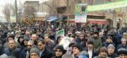 تصاویر / حضور روحانیون و مردم سراب در راهپیمایی ۲۲ بهمن