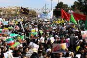 تصاویر/ راهپیمایی ۲۲ بهمن در قم-۱