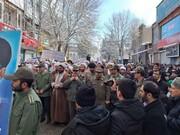 تصاویر / حضور مردم مراغه در راهپیمایی ۲۲ بهمن