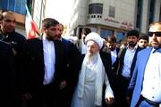 فیلم| حضور مراجع و علما در راهپیمایی ۲۲ بهمن