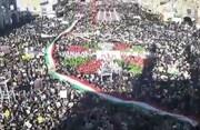فیلم| جشن پرشور یزدی ها در ۲۲ بهمن
