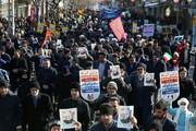 تصاویر/ راهپیمایی ۲۲ بهمن در اهر و جلفا