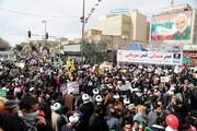 تصاویر/ راهپیمایی ۲۲ بهمن در قم-۳