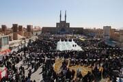 تصاویر/ راهپیمایی 22 بهمن در یزد