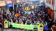 تصاویر/ راهپیمایی باشکوه ۲۲ بهمن در کرگل هند