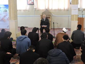 تصاویر / بزرگداشت اربعین سردار سلیمانی در جامعة المصطفی العالمیة تبریز