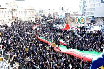 بالصور/ مسيرات ذكرى انتصار الثورة الإسلامية في مختلف أرجاء إيران