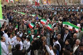 تصاویر/ راهپیمایی ۲۲ بهمن  مردم آران و بیدگل