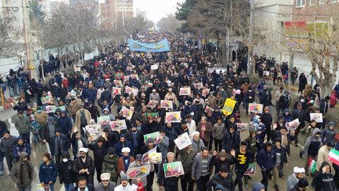 تصاویر/ راهپیمایی یوم الله 22 بهمن در بجنورد