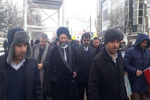 تصاویر/ راهپیمایی مردم اردبیل در 22 بهمن