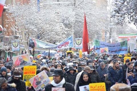 تصاویر/ راهپیمایی 22 بهمن در ارومیه