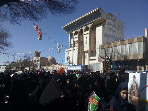 حماسه یزدی ها در یوم الله 22 بهمن 98 به روایت تصاویر
