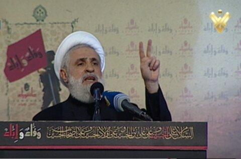 Sheikh Qassem: Iran Supports Resistance to Regain Rights