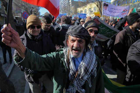 تصاویر/ راهپیمایی با شکوه مردم در ۲۲ بهمن ۱۳۹۸ در سراسر کشور
