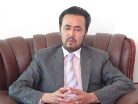 Afghan professor and politician Abdul Lateef Nazari