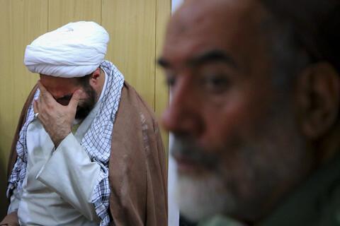 گرامیداشت شهادت شیخ عبدالله ضابط در موسسه روایت سیره شهدا