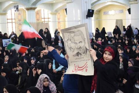تصاویر / مراسم اربعین شهادت سردار سلیمانی در تبریز