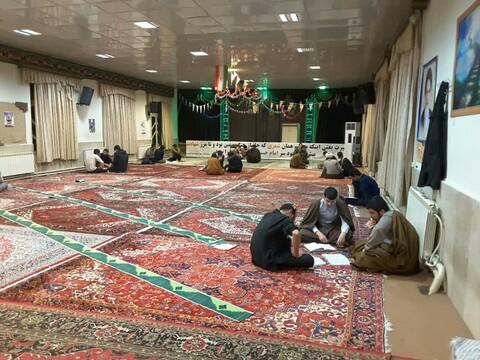تصاویر / اجرای طرح «مباحثه عمومی» مدرسه علمیه امیرالمومنین(ع) تبریز