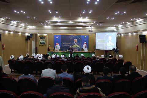 تصاویر/ بزرگداشت مقام علمی استاد محمد جواد صاحبی