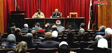 نشست ادبی مقاومت در مرکز فرهنگی عربی ابورمانه دمشق برگزار شد