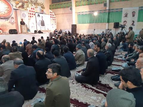 اربعین سردار شهید حاج قاسم سلیمانی و سالگرد شهدای مدافع امنیت در کاشان