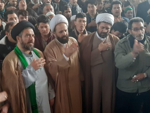 تشییع پیکر شهید مدافع حرم محمد عیسی رضایی در کاشان