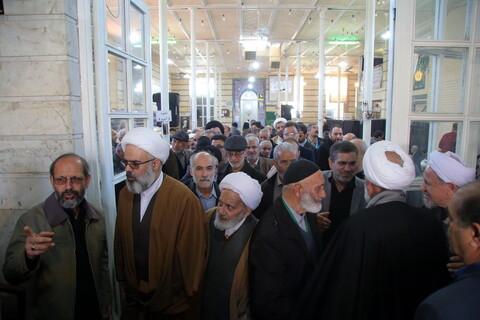مراسم بزرگداشت چهلمین روز درگذشت مرحوم حجت الاسلام والمسلمین کیائی نژاد