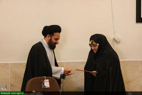 تصاویر تجلیل از ممتازین قرآنی خانواده طلاب حوزه علمیه اصفهان