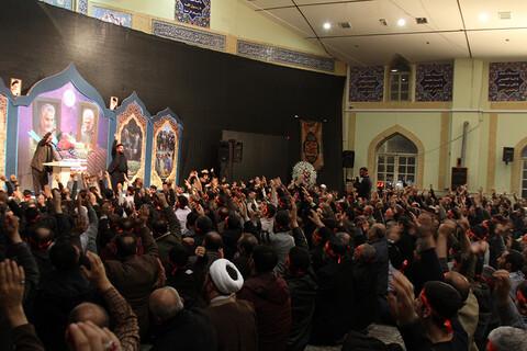 تصاویر/ مراسم یادبود چهلمین روز شهادت سپهبد سلیمانی در همدان
