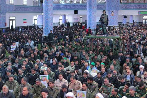 مراسم چهلمین روز شهادت سردار سلیمانی در بیرجند