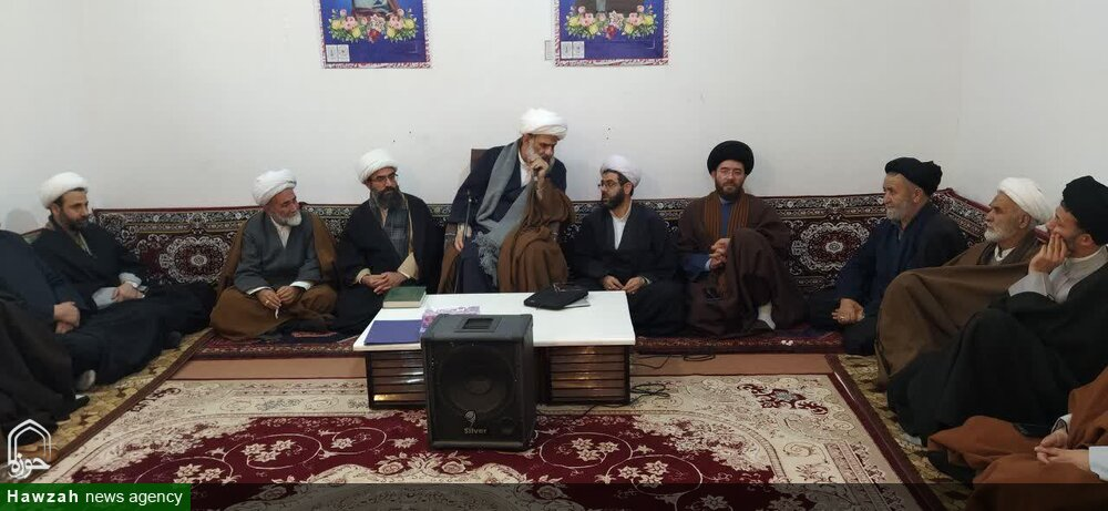 تصاویر / دیدار حجت الاسلام و المسلمین هادی ملکوتی با روحانیون شهرستان سراب