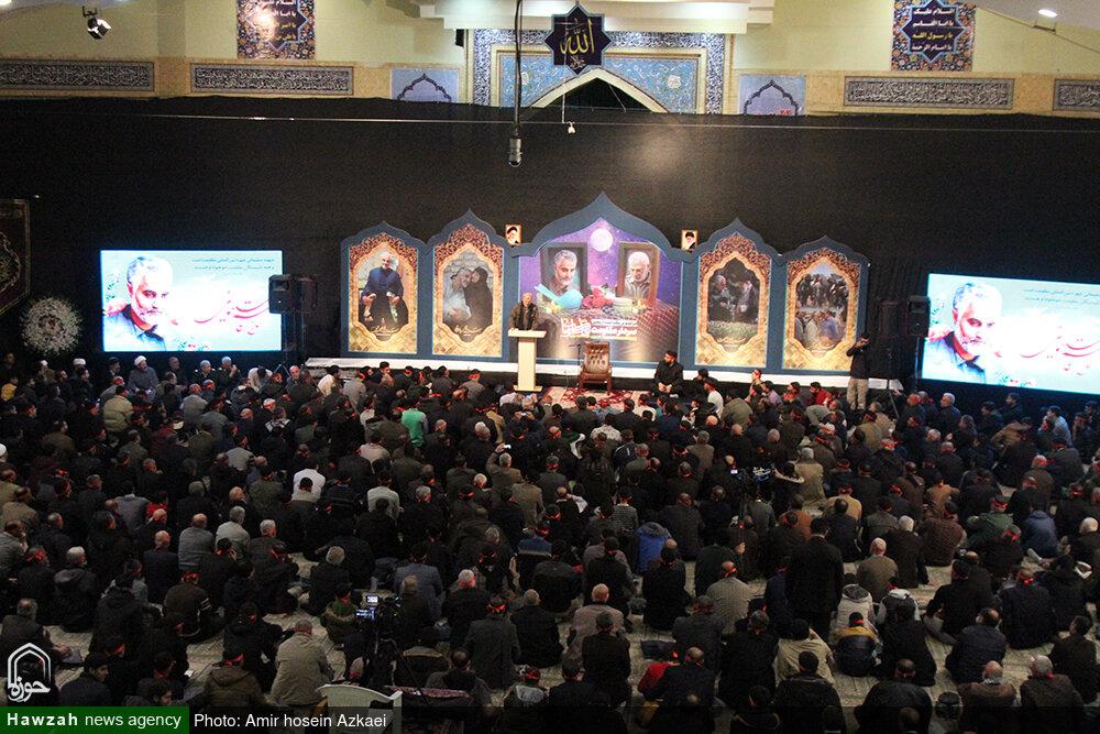 تصاویر/ مراسم بزرگداشت چهلمین روز شهادت سپهبد سلیمانی در همدان