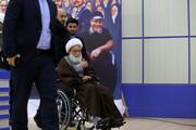 فیلم| شعارهای بحرینیها همزمان با ورود آیت الله عیسی قاسم