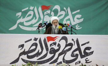 انقلاب اصلاحگر مردم بحرین از جنس قیام انبیا و صالحان است
