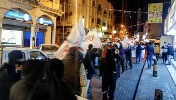 بحرین امشب صحنه تظاهرات و درگیری نیروهای امنیتی با مردم است+ تصاویر