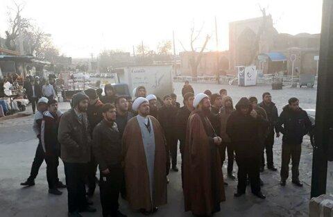 تصاویر/ اردوی زیارتی طلاب مدرسه علمیه امام صادق (ع) بیجار به مشهد مقدس
