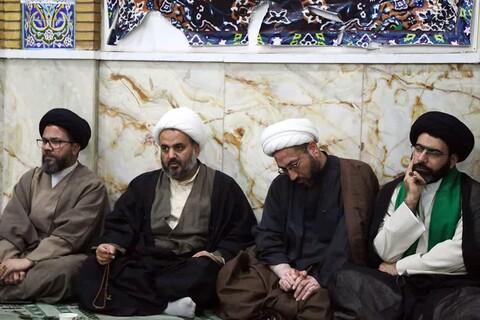 تصاویر/ جلسه درس اخلاق حوزه علمیه اهواز