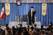 بالصور/ لقاء ذاكري أهل البيت عليهم السلام بالإمام الخامنئي