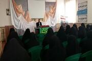 شرکت بانوان طلبه قزوین در نشست بصیرتی «مجلس در گام دوم انقلاب»