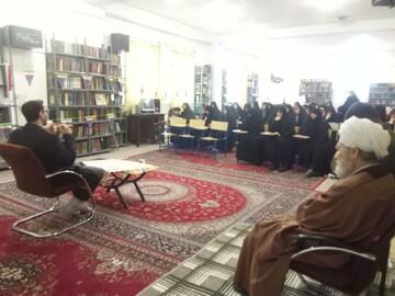 تصاویر/ جشن میلاد کوثر در مدرسه علمیه فاطمیه جلفا