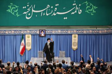 تصاویر/ دیدار مداحان اهلبیت(ع) با رهبر معظم انقلاب