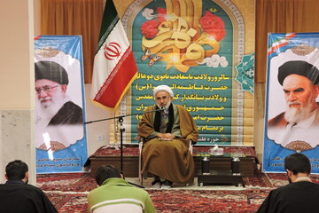 تصاویر/ جشن میلاد کوثر در مدرسه علمیه ولیعصر (عج)تبریز