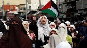 Jordanians outside Grand Mosque slam Trump's deal of century