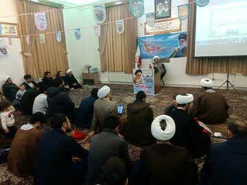 تصاویر/ جشن میلاد کوثر در مدرسه علمیه طالبیه تبریز