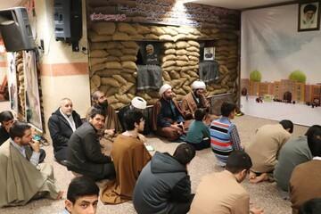 تصاویر/ جشن میلاد فاطمه زهرا (س) در مدرسه علمیه امام صادق (ع) قروه
