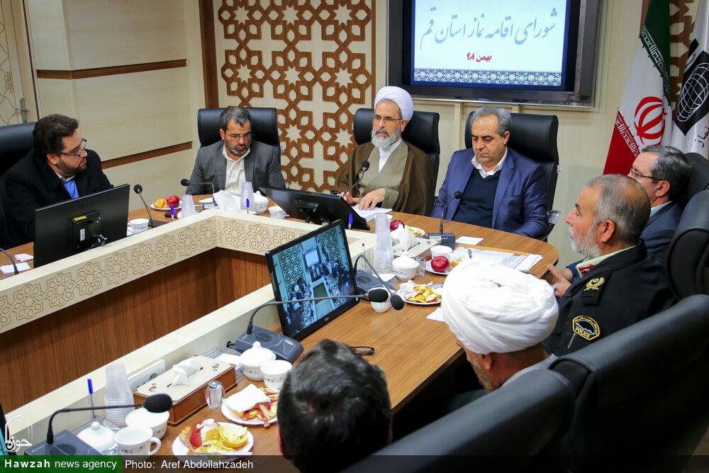 تصاویر/ جلسه شورای اقامه نماز استان قم