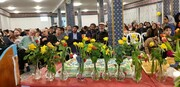 جشنواره پخت کیک در برلین به مناسبت میلاد حضرت زهرا(ع) + تصاویر
