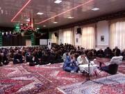 تصاویر / مراسم گرامیداشت سردار شهید سلیمانی بهمراه قراِئت زیارت عاشورا در مدرسه علمیه امیرالمومنین(ع)تبریز