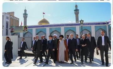 علی لاریجانی به سوریه سفر کرد